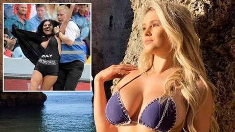 'Most bad-ass mom ever!' Kinsey Wolanski's future mother-in-law attempts streak at Cricket World Cup