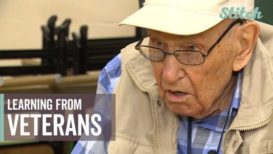 'His personal stories made it more real': Students learn firsthand from veterans