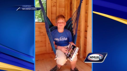 Make a Wish NH grants wish for Barnstead boy