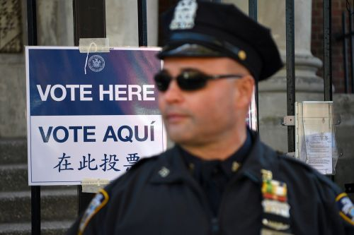 NYPD plans for more cops at polling stations on 'contentious' Election Day