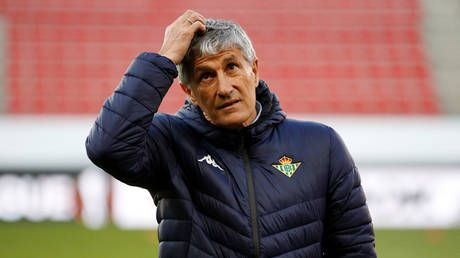 'World is going mad': Fans in shock as Real Betis sack manager ONE HOUR after win at Real Madrid