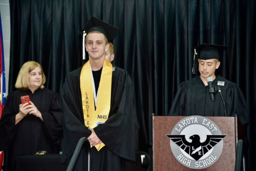 Star runner who missed graduation surprised with special ceremony