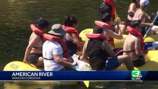 30 rescued from American River over weekend, officials say