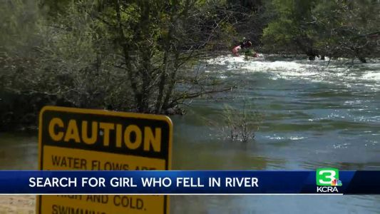 Search continues for 5-year-old girl who fell into Stanislaus River