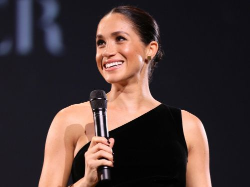 Meghan Markle channeled her old Hollywood style and wore a one-shoulder dress for the first time since she became a duchess