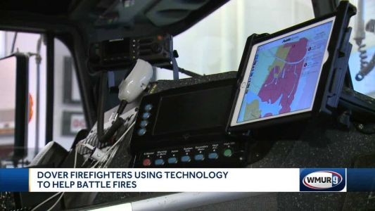 Dover firefighters using technology to help battle fires