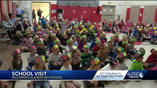 School Visit: McCormick Elementary School in Moon Township