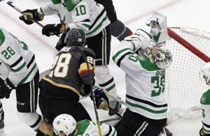 Golden Knights rally for 5-3 round-robin win over Stars