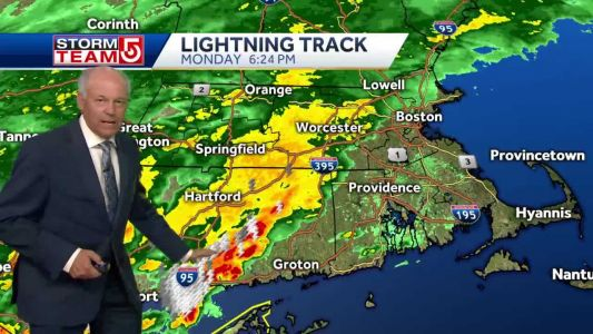 Video: Timing when the heaviest rain falls over Mass