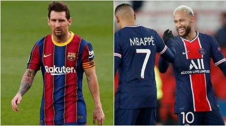 Three's a crowd? PSG star Herrera doubts Messi could link up with Neymar & Mbappe at French giants due to financial fair play