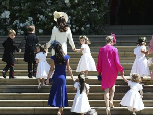 'The child whisperer': How the royal nanny kept her charges perfectly behaved for the wedding