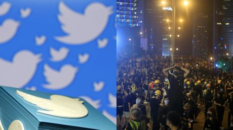 Twitter and Facebook say China-linked accounts sought to fuel political discord in Hong Kong