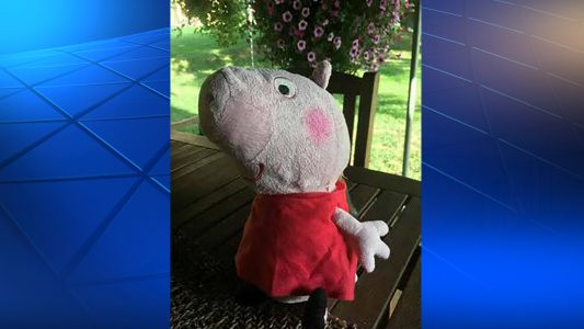 Bridgeville police looking to reunite Peppa Pig toy rescued from flood debris with owner
