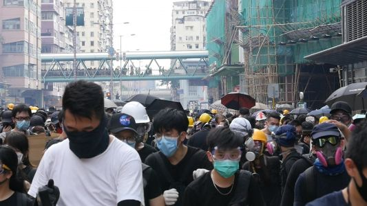 A protester takes us inside the demonstrations in Hong Kong