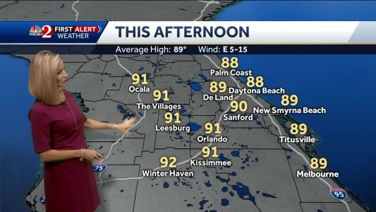 Another hot one Tuesday in Central Florida