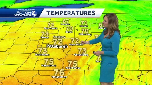 Pittsburgh's Action Weather forecast: More storms possible later today