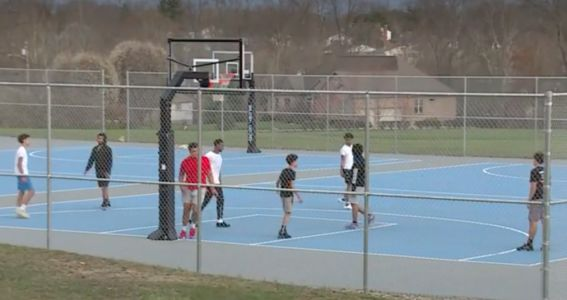 Basketball courts, disc golf courses at Cincinnati parks to close Friday