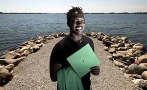 Sudanese-American to graduate, with 6 siblings in attendance