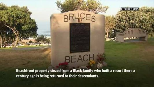 Black-owned California beachfront seized 100 years ago could be returned to owners' descendants