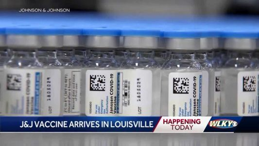 New Johnson & Johnson vaccine expected to arrive in Louisville on Monday