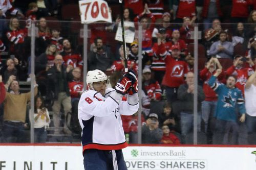 Devils overcome Alex Ovechkin's 700th goal to clip Capitals