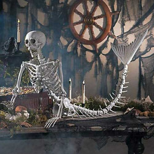 Unicorn, dragon or mermaid? These skeletons will be the star of your Halloween decorations