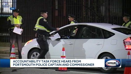 Accountability task force hears from Portsmouth police captain, commissioner