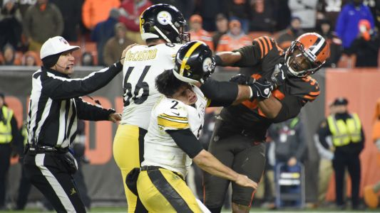 Browns, Steelers players react to Myles Garrett's racial slur accusation against Mason Rudolph