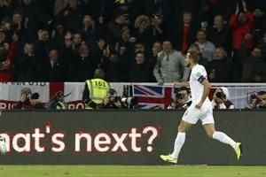 Kane scores again as England beats Kosovo 4-0