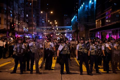 Carte blanche for Hong Kong's cops and other commentary