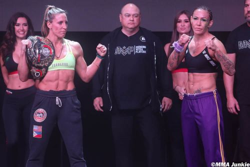 Bellator 238 ceremonial weigh-in highlights, photo gallery: Final faceoffs for Bellator's 2020 debut