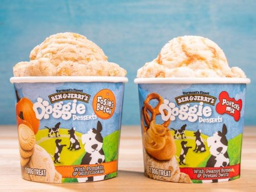 Ben & Jerry's now has 2 flavors made just for dogs