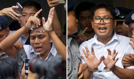 Myanmar court rejects final appeal of jailed reporters