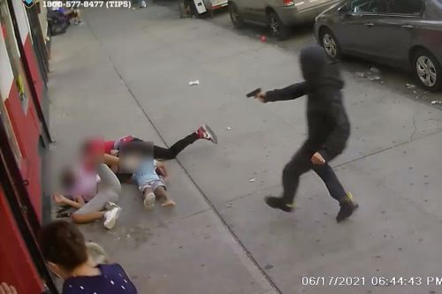 Horrific shooting video shows exactly why crime is issue No. 1 for NYC voters