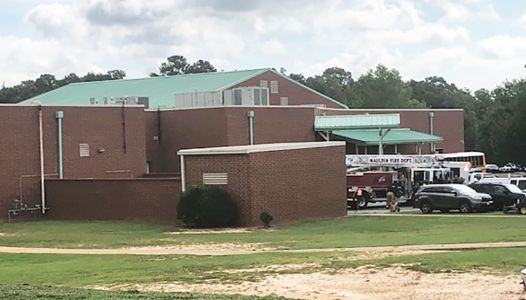 Greenville County coroner confirms death of worker on middle school roof
