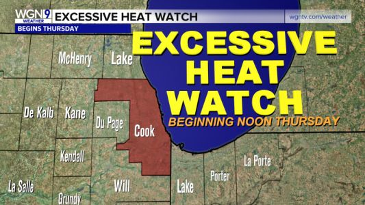 Dangerous combo of heat and humidity on the way; Heat Watch issued