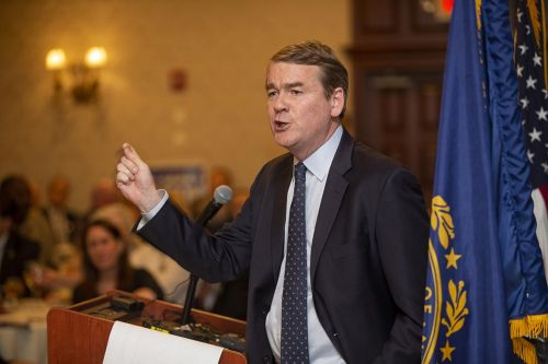 Michael Bennet's first House endorsement is from Trump Country