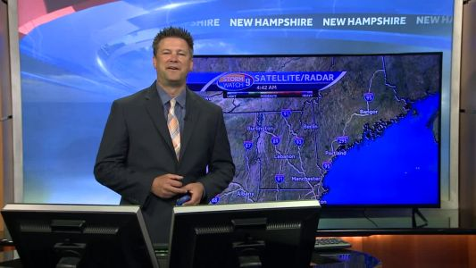 WATCH: Rain moves in Friday