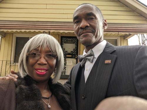 A homeless Detroit man bought an abandoned house for $1,500 and spent 10 years renovating it for his wife. Here's how he did it - and what it looks like now
