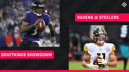 Steelers-Ravens DraftKings Picks: NFL DFS lineup advice for Week 12 Wednesday afternoon Showdown tournaments