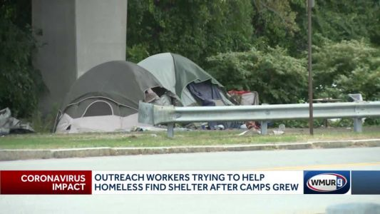 Manchester shelter workers try to encourage homeless to get inside