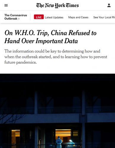 """""""Shame on You, New York Times!"""" Scientists Speak Out Over Media Disinformation on China"""