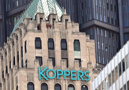Koppers sells China venture as part of shift from heavy industrial chemicals