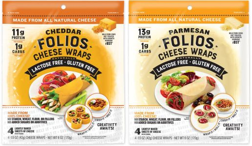 You can buy wraps made of 100% cheese and they're a low-carb dream come true