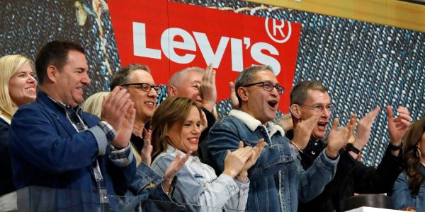 Levi Strauss surges 9% on booming sales forecast, and one analyst says the stock will surge another 25% from here