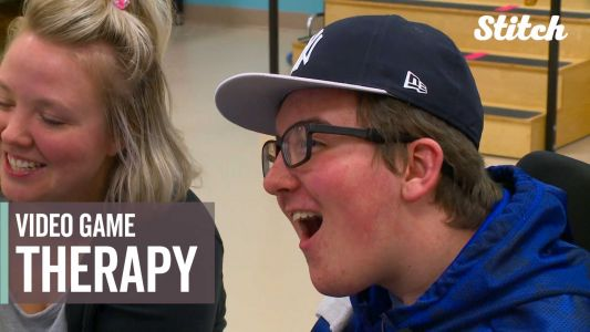Football-loving teen with brain injury finds new way to play his favorite sport