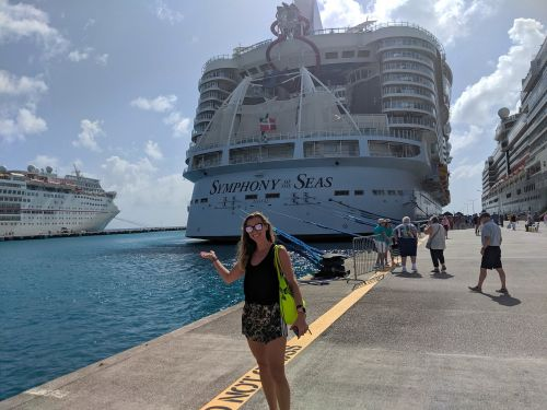 I stayed in a 182-square-foot room on the world's largest cruise ship, where no space was left unused. Here's what it's like inside