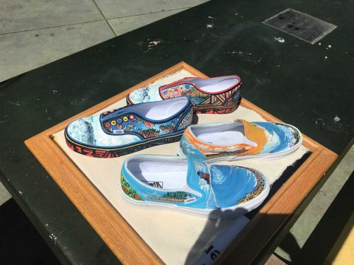 Harbor High School up for $75,000 Vans Shoe-design prize money