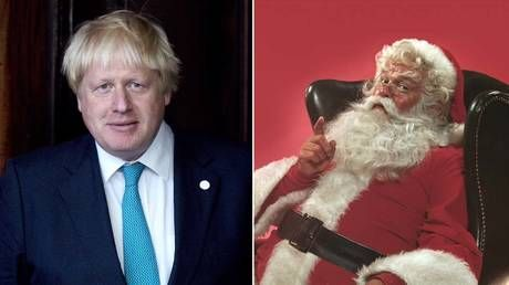 BoJo triggers wave of criticism with tweet promising Father Christmas WILL deliver presents despite pandemic