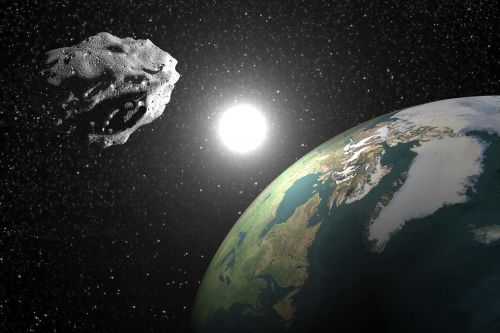 NASA monitoring 2,100-foot asteroid on track to 'skim Earth'
